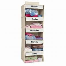 clothes organizer days of the week days of the week closet organizer