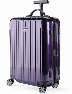 rimowa cabin trolley rimowa salsa air cabin trolley 52cm in purple for