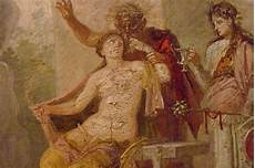 pompeii fresco from the secret room in the museo