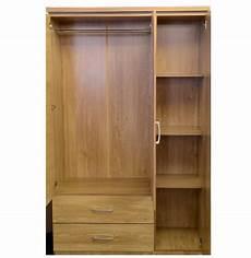 seconique charles 3 door 2 drawer combination mirrored