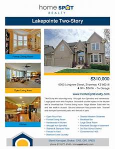 Home Sale Flyer Quality Flyers Highlight Your Home S Features Kansas