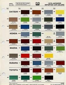 Honda Civic Color Code Chart 231 Best Chips Codes Paint S Images On Pinterest