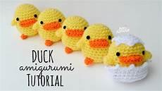 duck amigurumi tutorial crochet for beginners part 1