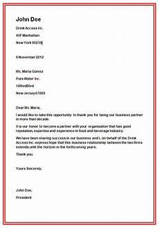 Letters Format Business Letter Format Slim Image