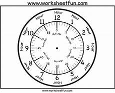 Free Printable Clocks Time Printable Clock Face 4 Worksheets Free