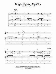 Bright Lights Chords Bright Lights Big City Guitar Tab By Jimmy Reed Guitar