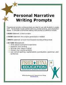 Narrative Essay Prompts Personal Narrative Writing Prompts Writing Prompt For 4th