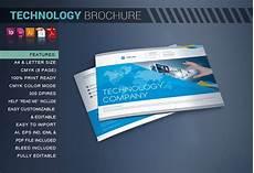 Template For Brochures Technology Brochure Catalog Brochure Templates