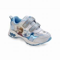 Disney Character Light Up Shoes Disney Frozen Toddler Girl S Blue White Light Up Sneaker