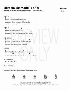 Bright Lights Chords Light Up The World Lead Sheet Lyrics Amp Chords