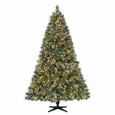 Martha Stewart Living Christmas Tree Lights Martha Stewart Living 7 5 Ft Pre Lit Led Sparkling Pine