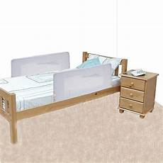 safetots sided bed rail white child 2 sided bed