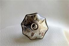antique style vintage silver mercury glass cabinet knobs