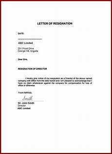 Resigning From A Board Image Result For Resignation Letter Word Format Family