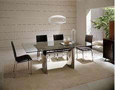 waves collection modern luxury dining table black