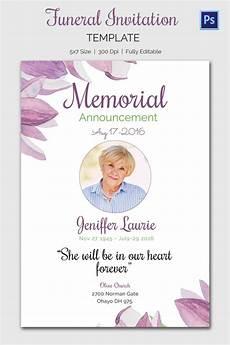 Funeral Invitation Sample Funeral Invitation Template 12 Free Psd Vector Eps Ai