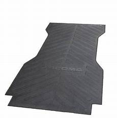 for toyota tacoma 2005 2017 bed mat rubber genuine