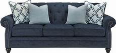 lavernia navy sofa from coleman furniture