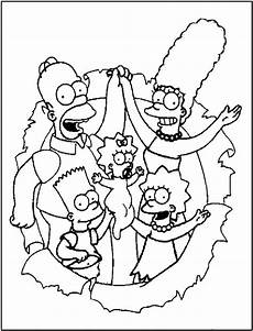 Malvorlagen Lustige Free Printable Simpsons Coloring Pages For