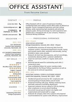 Office Manager Assistant Resumes Office Assistant Resume Example Amp Writing Tips Resume
