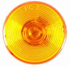 Amber Marker Lights 2 5 Quot Inch Amber Round Sealed Side Marker Clearance Light