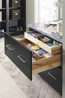 two drawer base cabinet with roll tray schrock