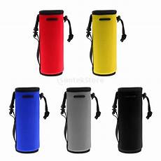 neoprene insulated sport water bottle cover pouch sleeve