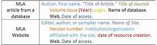 Website Article Citation Citation National History Day Uwm Libraries Research