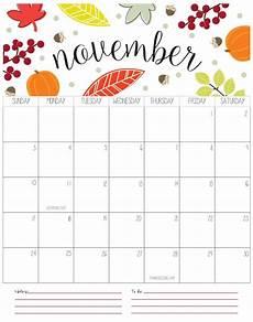 November Malvorlagen November 2019 Calendar Template Word Pdf Catchy