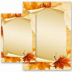 Autumn Stationery Stationery Paper Seasons Autumn Autumn Leaves Paper
