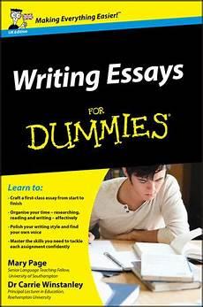 Essays For Dummies Essay Writing For Dummies Ebook