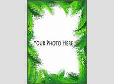 Palm Frame for Custom Shirts with Pet Picture