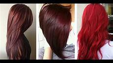 Reed Hair Color Chart The Most Popular Red Hair Color Shades Youtube