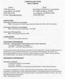 Sample Curriculums Curriculum Vitae Cv Samples Fotolip