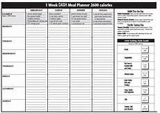 the dash diet plan dash diet meal planner