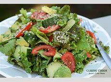 Avocado Hemp Dinner Salad   Curing Vision