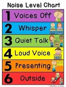 Voice Chart Voice Level Chart Classroom Charts Voice Level Charts