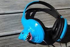 Custom Design Earphones Custom Headphones Shark By Prodigiousaltitude On Deviantart