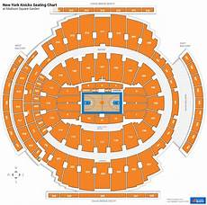 New York Knicks Seating Charts At Square Garden