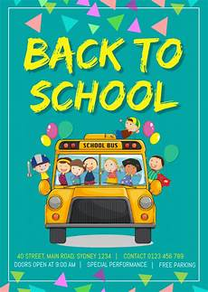 Back To School Flyer Templates Copy Of Back To School Flyer Template Postermywall