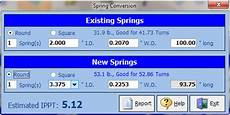 Spring Conversion Chart Torsion Spring Calculator For Overhead Doors Sarotech Inc