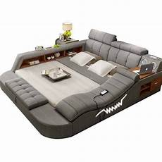 all in one bed with speakers storage safe
