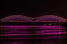 Hernando De Soto Bridge Lights Mighty Lights Seeking Dedications For Individual Lights