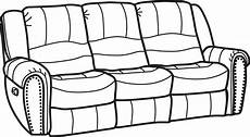 Flexsteel Sofa And Loveseat Png Image by Clipart Side View Side View Transparent Free