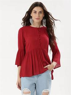 womens bell sleeve tops and blouses buy bell sleeve top for s blouses