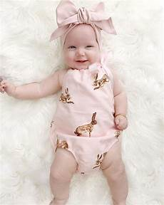 Bady Girl 2pcs Cute Newborn Toddler Baby Girl Clothes Pink Rabbit