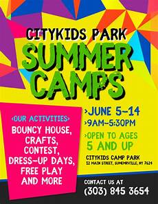 Camp Flyer Template Free Copy Of Summer Camp Flyer Postermywall