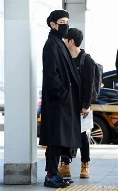 picture media bts at incheon airport go to hk 161201