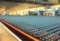 rolling mill finishing section rake type cooling bed