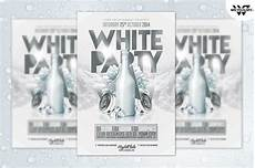 All White Party Invitations Templates White Party Flyer Template Flyer Templates Creative Market